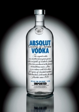 <h5>Absolut Vodka </h5><p>																																																																																																																																								</p>