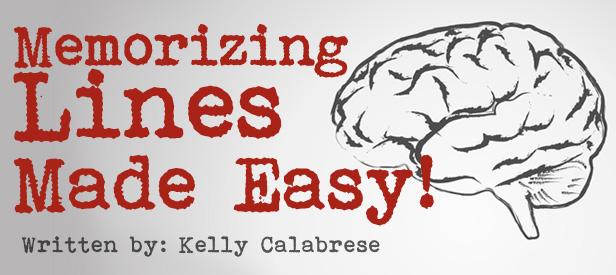 memorizing lines made easy