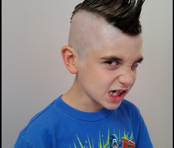 My Child Performer Wants To Get A Mohawk And Dye His Hair