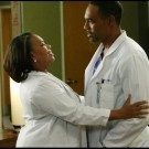 Jason George and Chandra Wilson in Greys Anatomy _PhotoByMitch Haaseth ABC1
