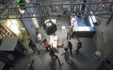indie film set