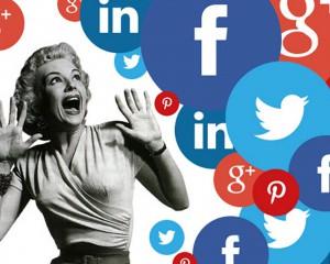 actors on social media