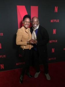 Gregg Daniel at Netflix Premiere IANOKWT