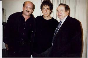 Steve Garrin w/ Al Pacino & Joe Franklin