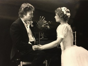 Laila Robins and Christopher Walken First professional play at Williamstown Chekhov's IVANOV