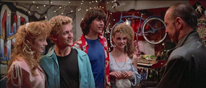 Diane Franklin in Bill and Ted's Excellent Adventure