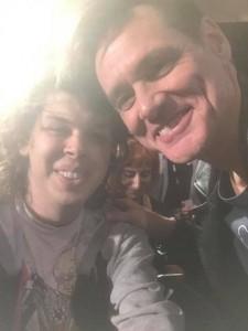 Matty Cardarople and Jim Carrey