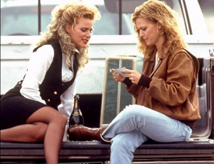 Dedee & sister Michelle Pfeiffer in Up Close and Personal