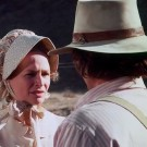 Bonnie Bartlett and Michael Landon in Little House on the Prairie