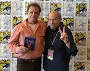Marc Singer and Ken Johnson at San Diego Comic-Con