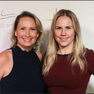 Casting Directors Krisha Bullock and Jamie Snow at the Heller Awards in 2020. Photo credit Willy Sanjuan and Jessica Sherman